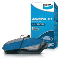 Bendix General Ct Disc Brake Pads For Toyota Aurion Gsv40 Gsv50 Pbr Calipers 2006-On