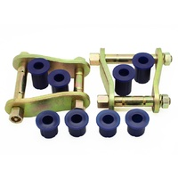 Greasable Shackle & Bush Kit For Toyota Hilux 4WD 2005-2015 Foton Tunland P201 4WD 2012-ON