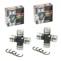 Two Toyo Japanese Universal Uni Joint For Toyota Landcruiser Hzj70R Hzj75R Hzj80R Hzj78R Hzj79R Hzj105R Vdj78R Vdj79R Vdj200R Hdj100R Hdj80R