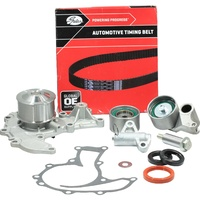 Timing Belt Kit+Hydraulic Tensioner+Water Pump For Holden Jackaroo Monterey U8 Ubs26 6Ve1 3.5L Dohc 1998-2004
