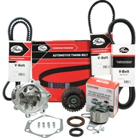 Timing Belt Kit+Water Pump+Drive Belts For Toyota Hilux LN147R LN152R LN167R LN172R 5L 3.0L 1998-2005