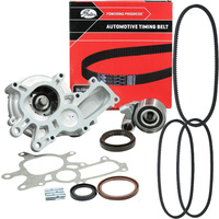 Timing Belt Kit+HAT+Water Pump+Drive Belts for Toyota Prado KZJ95R KZJ120R 1KZ-TE (1KZTE) 3.0L Turbo Diesel 1996-2007