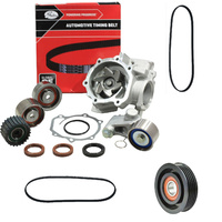 Timing Belt Kit+Hydraulic Tensioner+Water Pump+Drive Belts/Pulley For Subaru Outback Bh Bp Br Ej251 Ej252 Ej253 Ej25 2.5L Sohc
