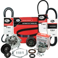 Timing Belt Kit+Water Pump+Fan Belts/Pulleys For Toyota Hilux LN86R LN106R LN111R 3L 2.8L SOHC 1988-1997