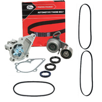 Timing Belt Kit, Water Pump, Drivebelts For Hyundai Excel X3 G4FK 1.5L DOHC 1998 1999 2000