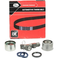 Timing Belt Kit & Hydraulic Tensioner For Mitsubishi 3000GT 3.0L Turbo GTO 3.0L Twin Turbo 6G72 DOHC