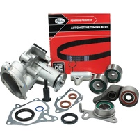 Timing Belt Kit+Hydraulic Tensioner+Water Pump For Mitsubishi Challenger PB PC Triton ML MN 4D56T 2.5L Turbo Diesel