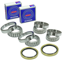 Two (2) Front Wheel Bearings for Holden Rodeo 4WD RA R9 TF TFS TFR