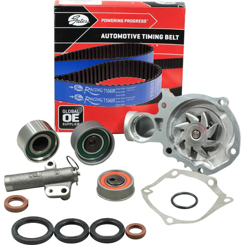 Racing Timing Belt Kit, Hydraulic Tensioner & Water Pump For Mitsubishi Lancer Evolution VIII 8 CZ  RVR 4G63T 2.0L TURBO DOHC