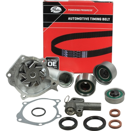 Timing Belt Kit+Hydraulic+Water Pump For Mitsubishi Express Sj Wa Starwagon Triton Mk 4G64 2.4L Sohc