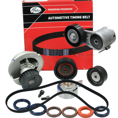 Timing Belt Kit+Water Pump+Fan Belt/Tensioner For Holden Astra TS AH Barina XC Tigra XC X18XE Z18XE DOHCTiming Belt Kit+Water Pump+Fan Belt/Tensioner
